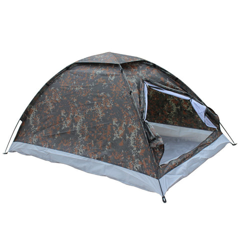 200*140*110cm Outdoor Portable Single Layer Camping Tents Outdoor Camping Hiking Durable Spring Summer Autumn Camouflage Tents