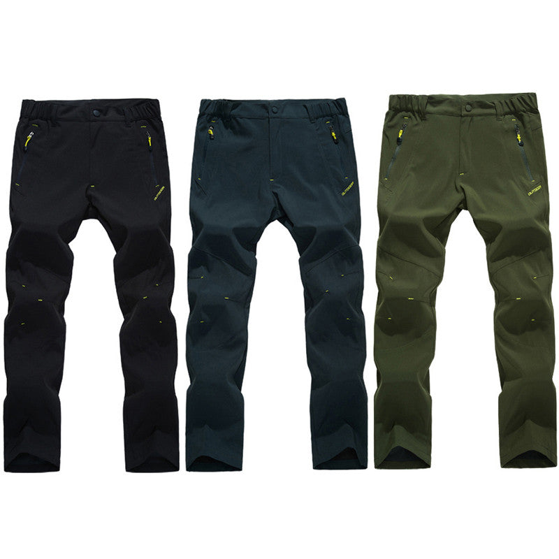 2016 New Spring Summer Mens Hiking  Pants Male Outdoor Quick Dry Trousers Breathable UV Climbing Trekking Camping Clothing RM155