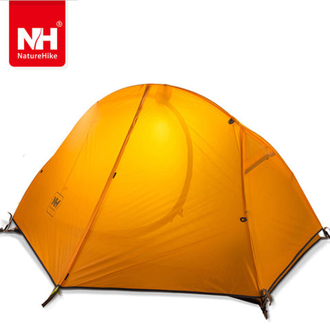NATUREHIKE ultralight tent 1 person outdoor camping Tent trekking hiking waterproof tourist tents Single carpas barraca tenda NH