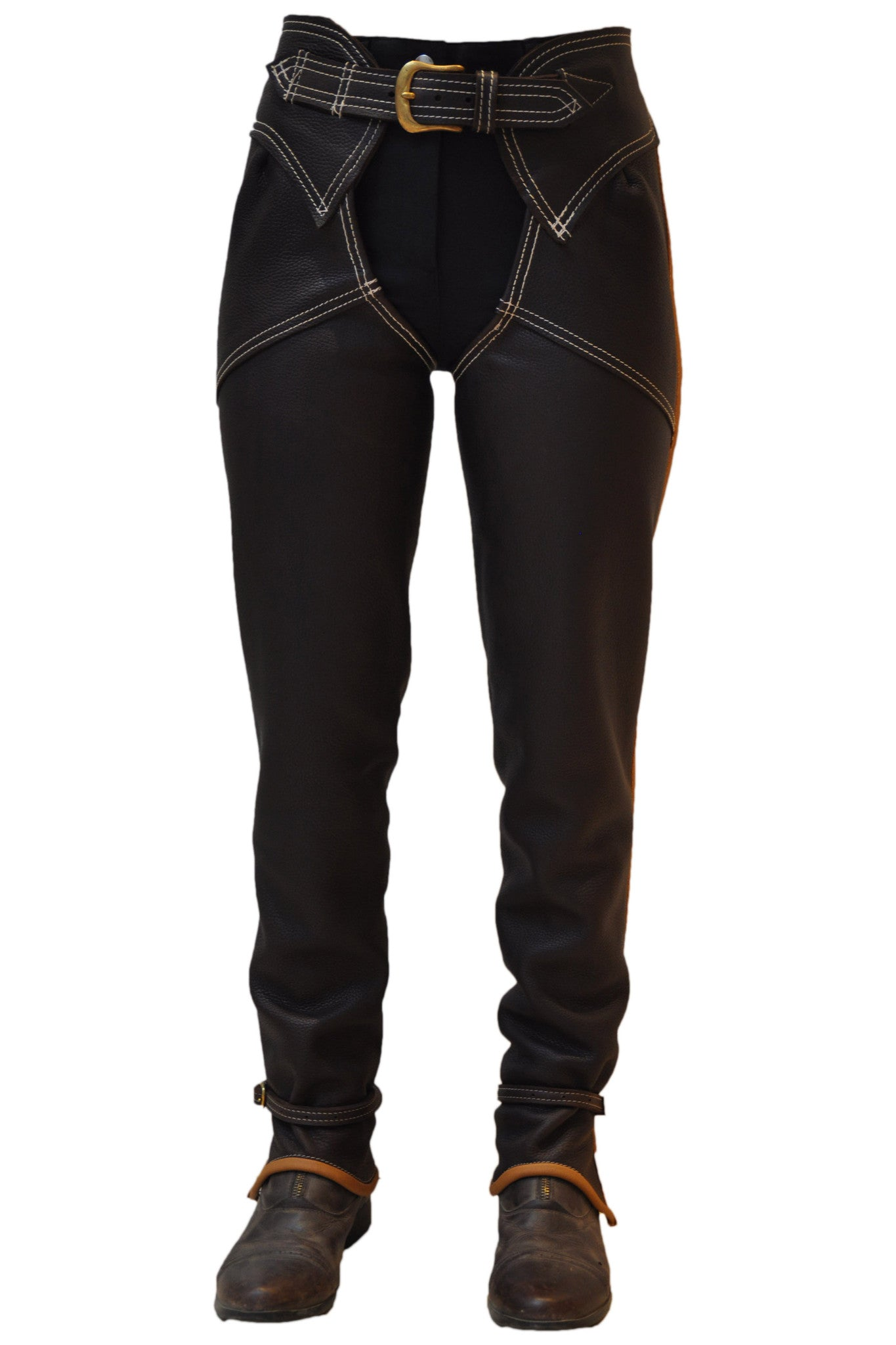 Chaps - Original Full Length Leather Chaps - Long Leg