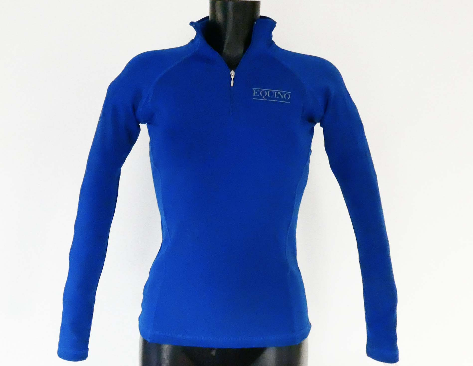 Fitted Long Sleeve Top - Royal Blue