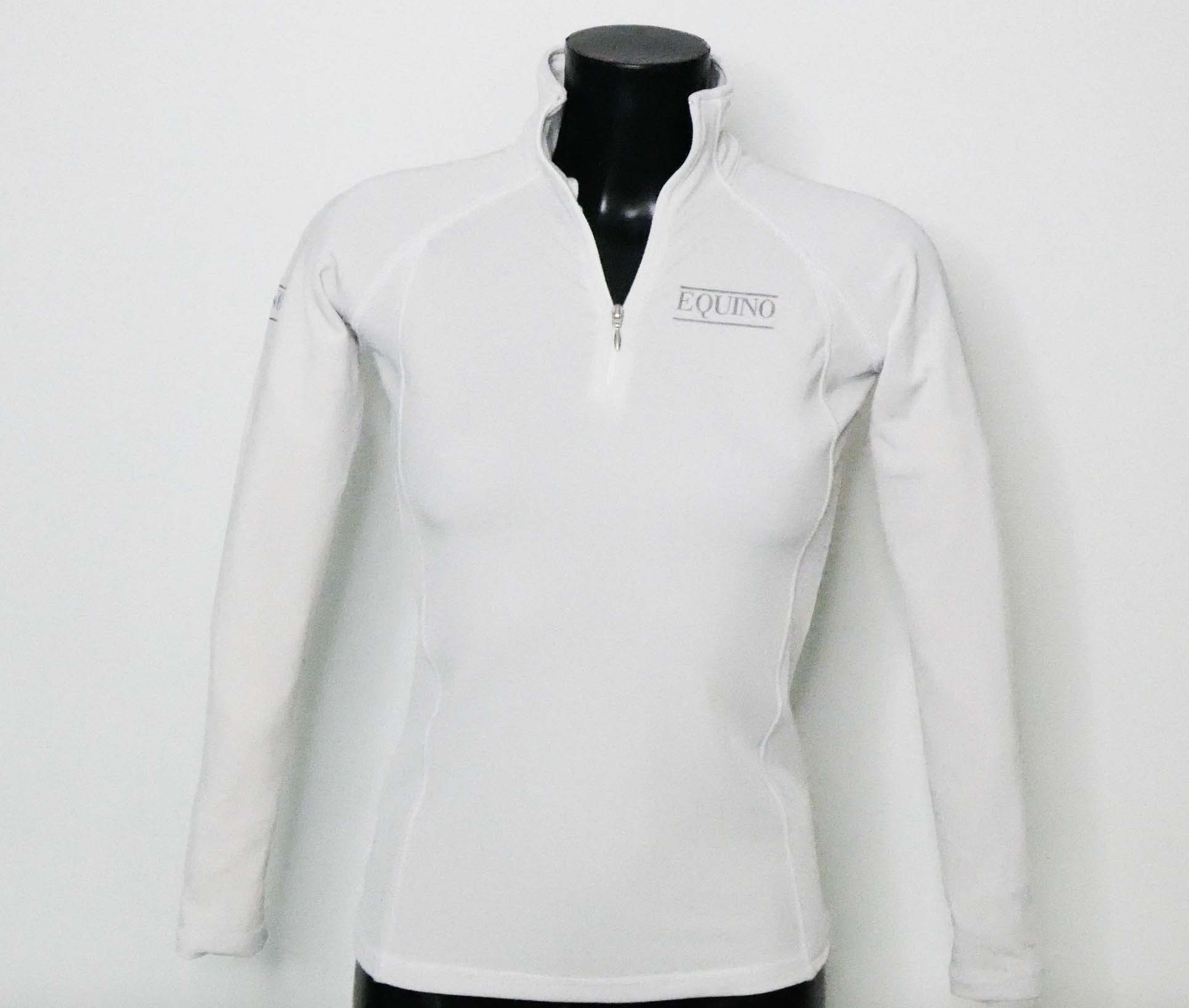 Fitted Long Sleeve Top - White
