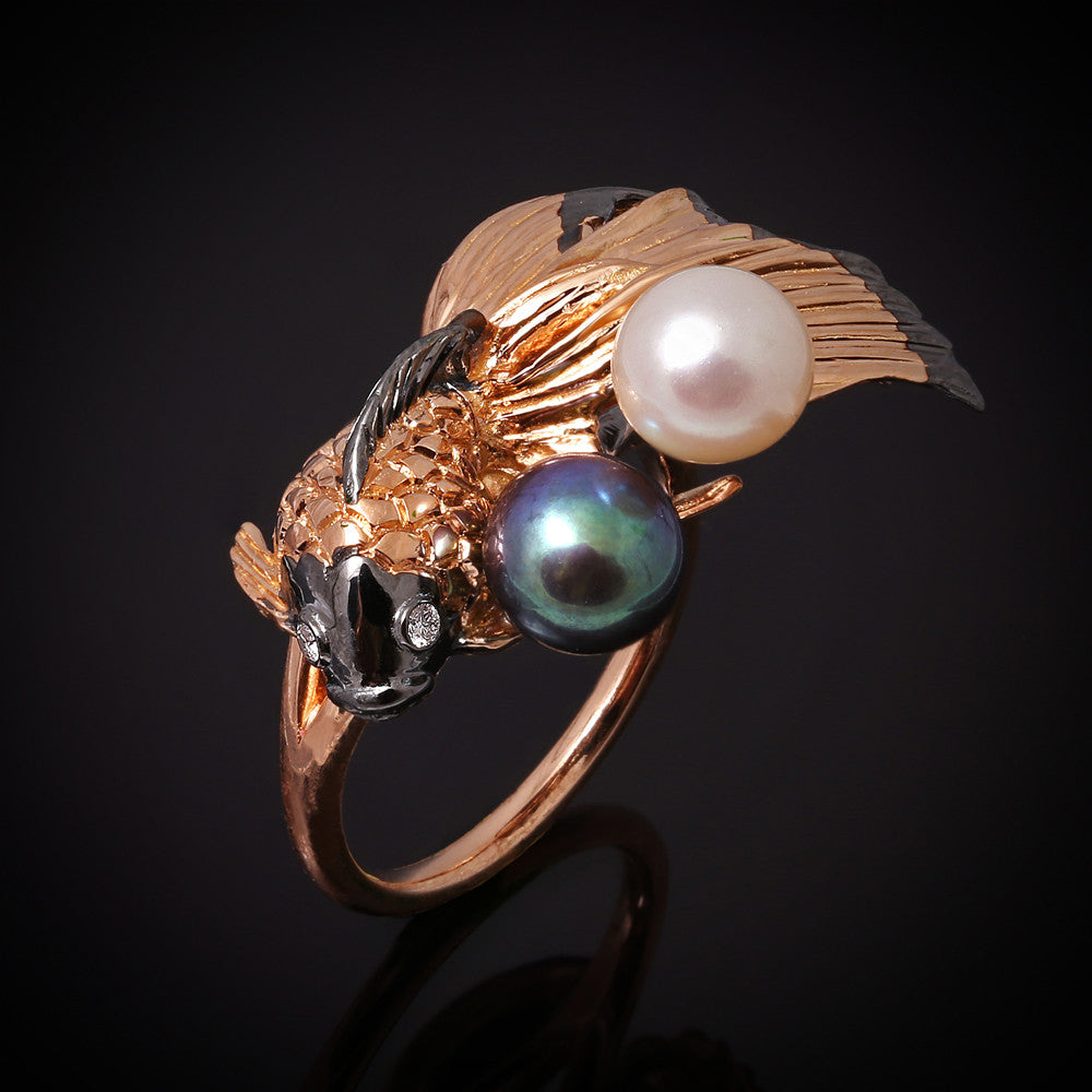 Splendens series ring