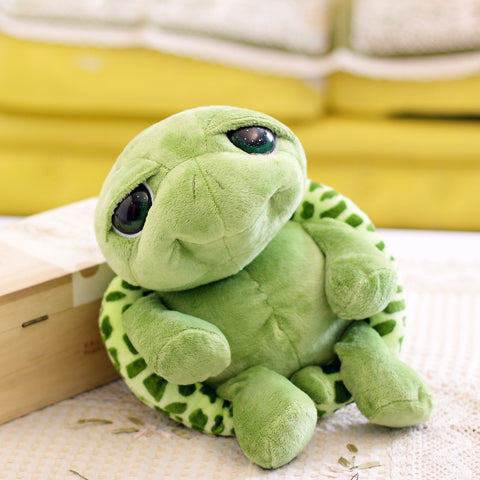 Army Green Big Eyes Turtle Toy
