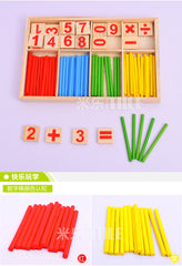 Counting Sticks Education Wooden Toys