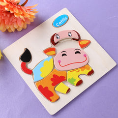 Animals Dimensional Puzzle Toy Force