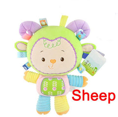 Soft Plush Elephant Crib Bed Hanging Animal