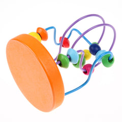 Wooden Mini Around Beads Educational Toy