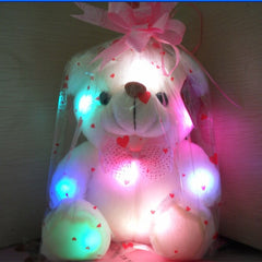 20cm Lovely Soft LED Colorful Glowing Teddy Bear