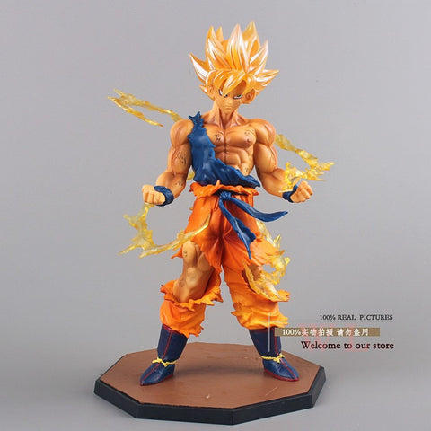 Dragon Ball Z Super Saiyan Son Goku PVC Action Figure
