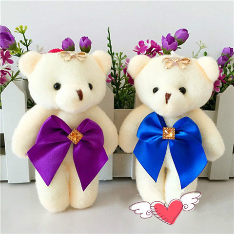 Cartoon Bouquet Of Diamond  Bear