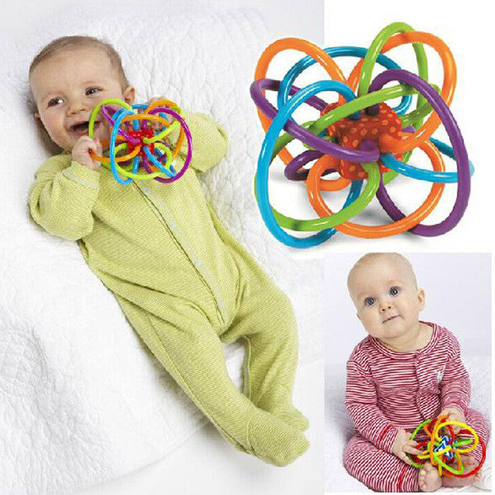 Little Loud Bell Ball Baby Ball Toy Rattles