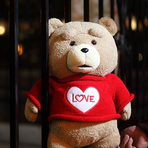 The Film Teddy Bear Ted 2 In Apron England Love Sweater