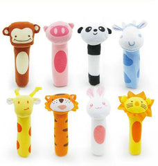 Itty-bitty Animal Squeaker Bar Toys