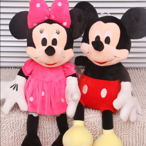 Mickey Mouse And Minnie Mouse Stuffed Toys