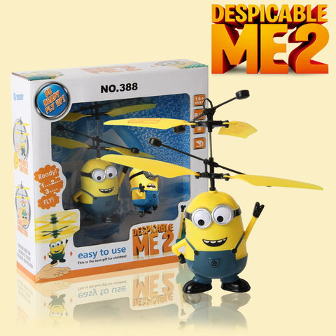 Flying Despicable Me Minion Quadcopter Drone