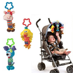 Animals Pram Stroller Bell Developmental Toy