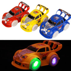Automatic Steering Flashing Music Racing Car