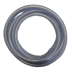 Reinforced Clear Hose 19mm ID - PER METER