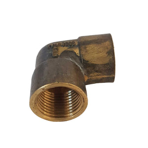 "Brass Elbow F-F 1/2"" (15mm)"
