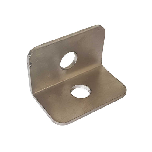 Stainless Steel Bracket 25x25x40 - 2 hole 10 Pack SSBF001