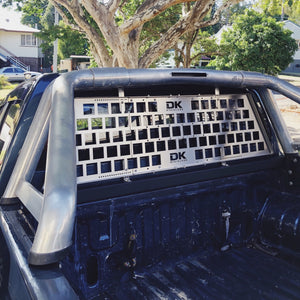 NEW Ute Rear Window Protector - Sports Bar Installation