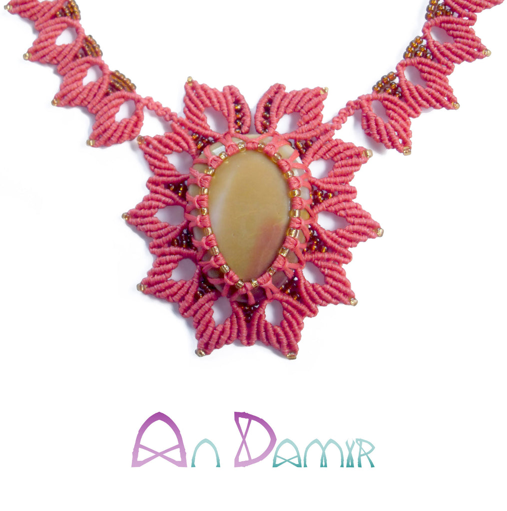 chic pink sparkly sfw product arbariworld necklace druzy