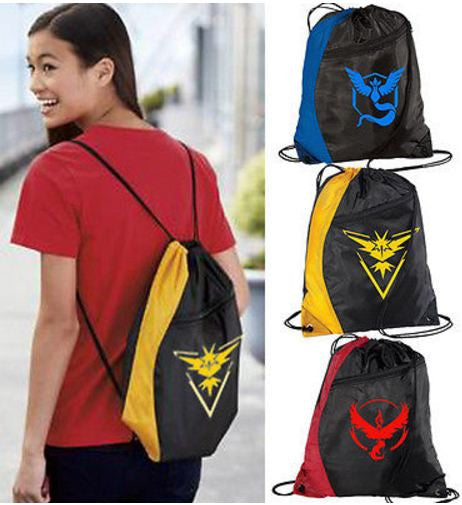 Pokemon Go Backpack Bag - MY-POKEMON4FREE.COM