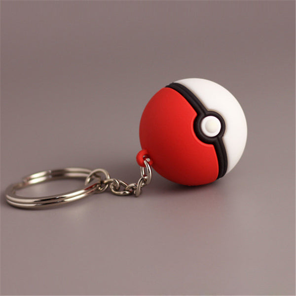 PokeBall Keychain