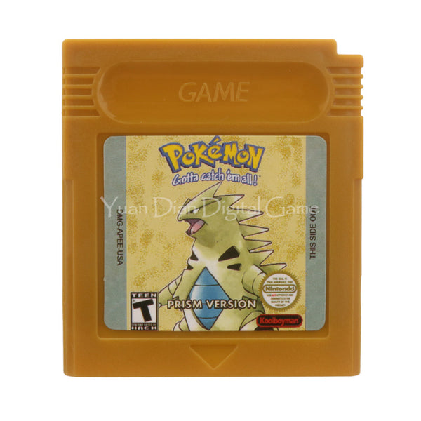 Nintendo Cartridge Console Pokemon Series Prism English Version