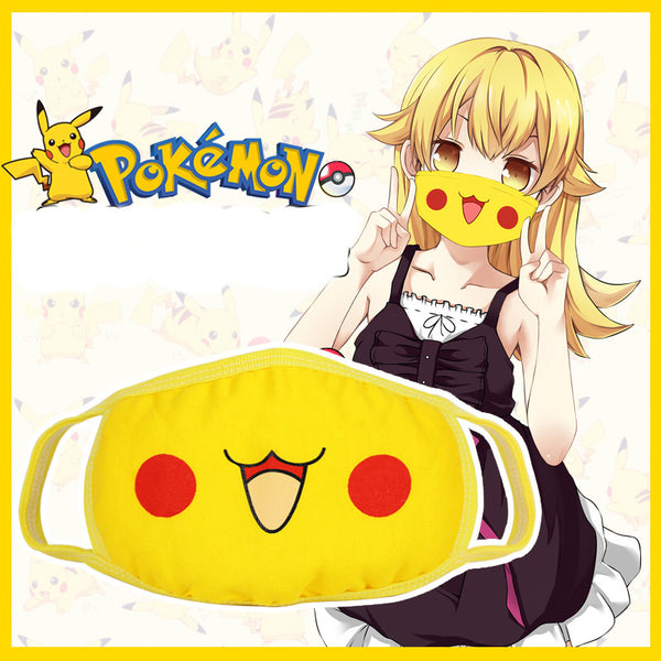 Cute  Pikachu Anti-Dust mouth-muffle Kawaii