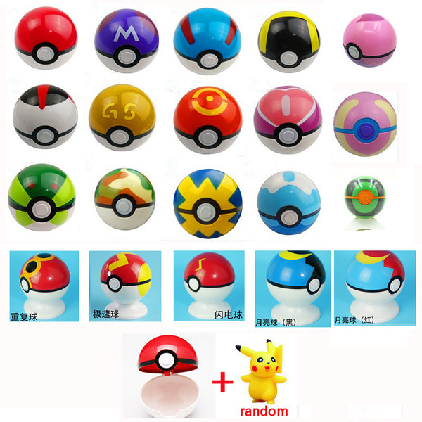 Pokeball Packag + Surprise Pokemon Inside