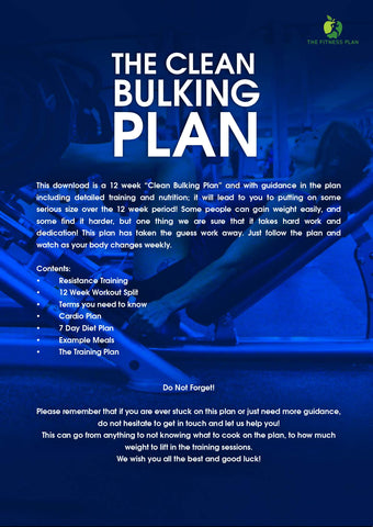 The Clean Bulking Plan