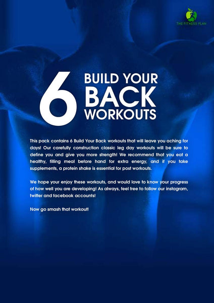 Muscle Group Plan Bundle