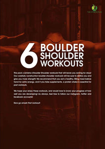 6 Boulder Shoulder Workouts