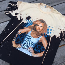 Carrie Underwood distressed tour tee