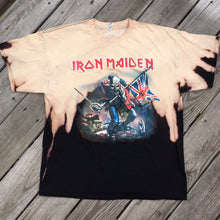 Distressed Iron Maiden 'British War' tee