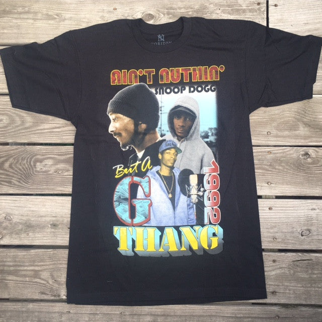 Snoop Dogg 'Aint nothin but a G thang' tee