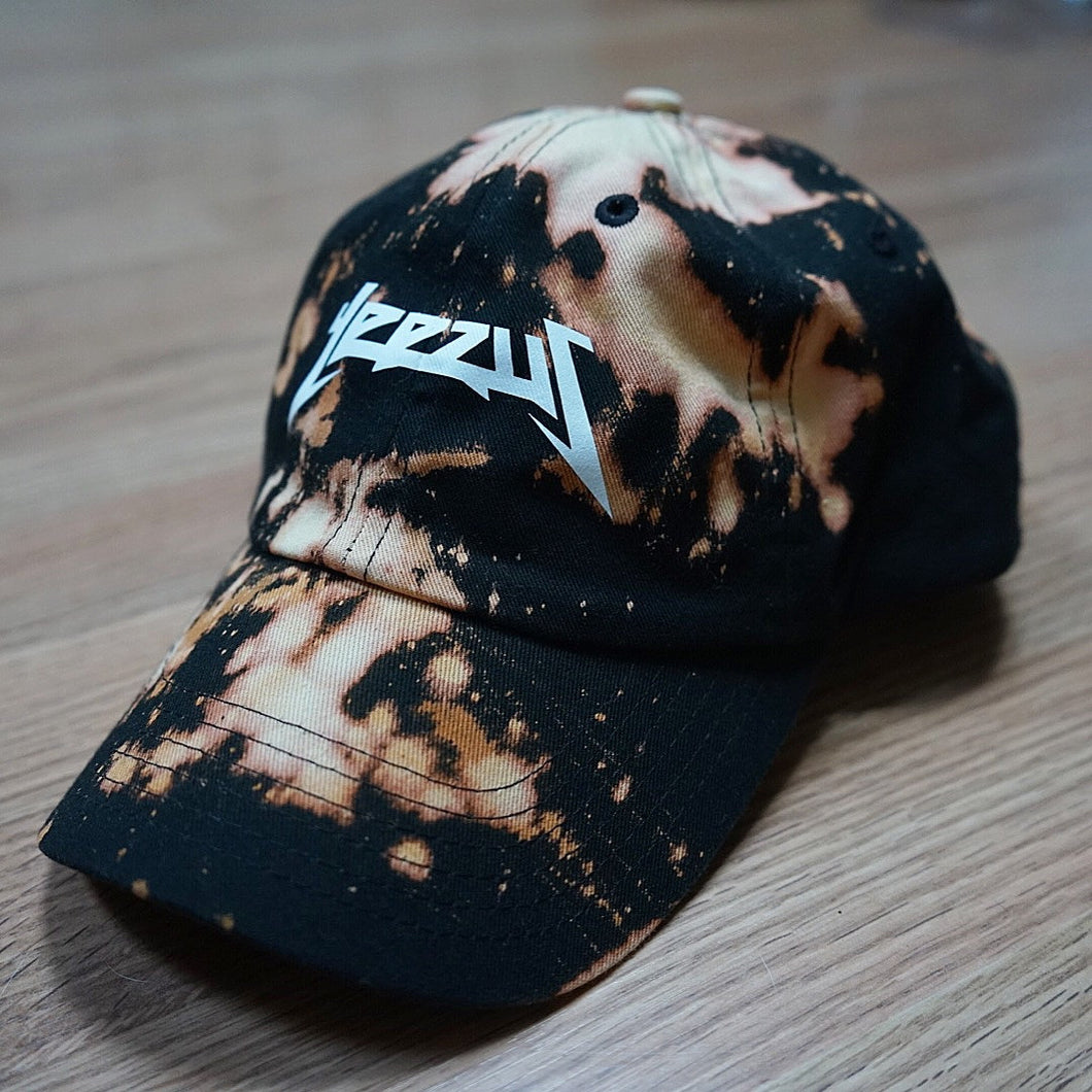 Distressed Yeezus Dad Cap