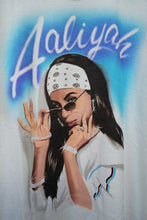 Aaliyah air brushed tee