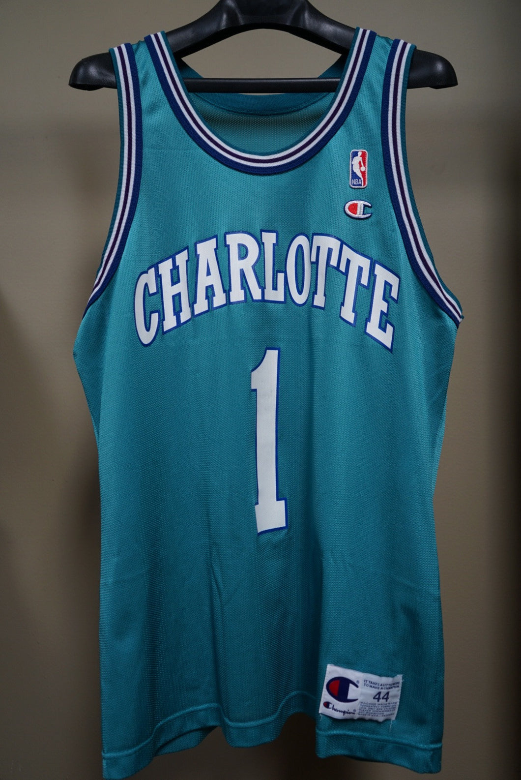wholesale dealer f5190 89c2a Muggsy Bogues vintage champion Jersey – Tacod