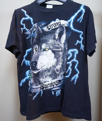 American Thunder 'only the strong survive' tee