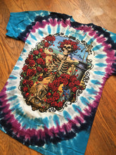 Grateful dead 1995 tour tie dye tee