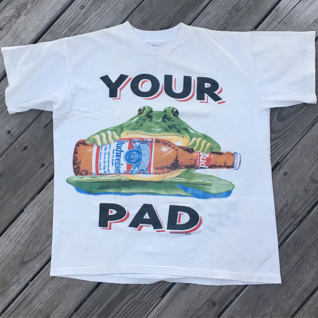 Budweiser Vintage 'Your pad or mine'