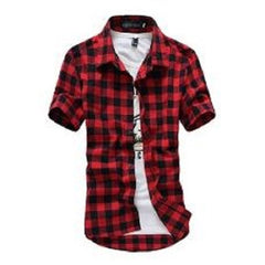 Plaid Short Sleeve Shirts $20.17 - God Degree Clothing And Accessories™® - GD's™®