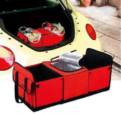 Trunk Collapsible Storage Basket Organizer With Insulated Cooler  $24.99 - God Degree Clothing And Accessories - GD's