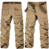 Big Pockets Khaki Cargo Pants (3 Colors - 9 Sizes) - Kwikibuy Amazon Global 3 Colors: Black, Khaki or Army Green 9 Sizes: 28 to 38 Material: Cotton