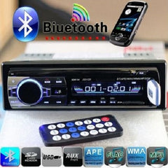 Bluetooth Hands-free In-Dash Car Stereo FM Radio MP3 Audio Player $59.01 - God Degree Clothing And Accessories