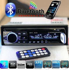 Bluetooth Hands-free In-Dash Car Stereo FM Radio MP3 Audio Player $59.11 - God Degree Clothing And Accessories - GD's