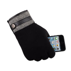 Soft Thermal Touch Screen Gloves (Black) Kwikibuy Amazon Global | Men | Cashmere | Gloves | Mittens | Touchscreen | Outerwear | iPhone